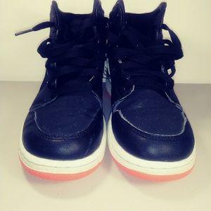 Nike Air Jordan Retro 1 High GG Black sneakers